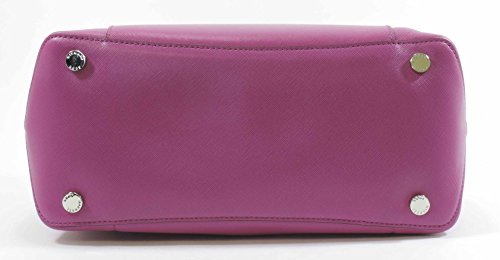 Michael Kors Fuschia Luggage Large Greenwich Leather Tote Grab Bag Purse by Michael Kors (Image #3)