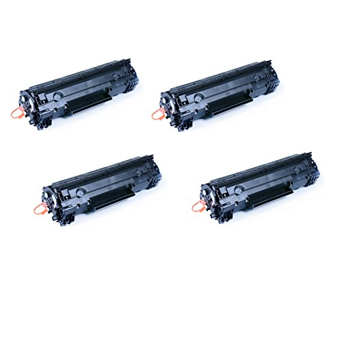 Gts Value Combo - Cool Toner GTS Value Combo 4 Pack of Replacement Toner Cartridges for Canon 125 (3484B001)