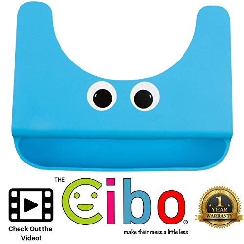 The Cibo Crumb Catcher Silicone Placemat for Kids - Toddlers and Babies Non-Slip Food Table Mat