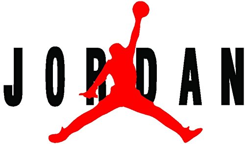AIR FLIGHT Jordan JumpMan HUGE Wall Decal Sticker various sizes (23' inch)