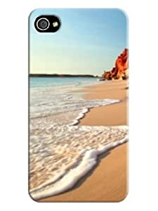 custom fashionable New Style lightweight phone case cover for iphone 4/4s with TPU skin