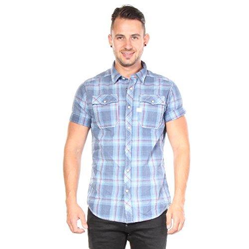 g-star-raw-mens-landoh-short-sleeve-button-up-shirt-bleach-spray-tum-medium