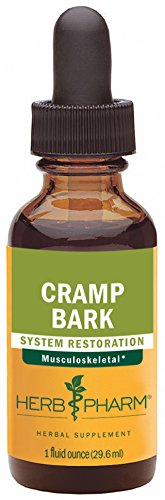 Herb Pharm Cramp Bark Extract for Musculoskeletal Support, 1 Ounce