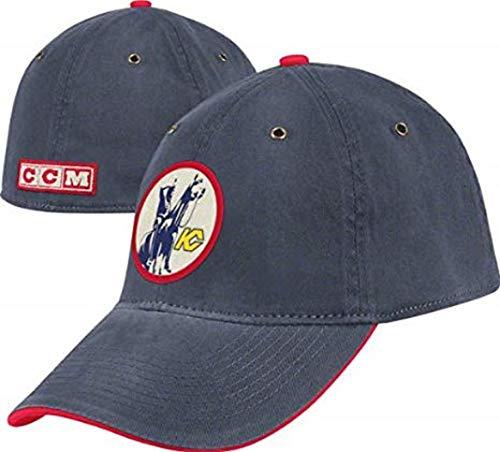 Kansas City Scouts Blue CCM Classics Slouch Flex Hat (Flex Hat Slouch)