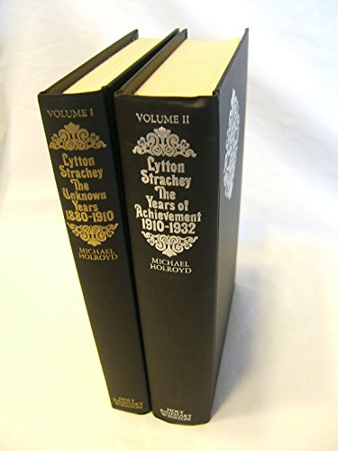 Lytton Strachey: The Untold Years 1880-1910 & The Years of Achievement 1910-1932 (2 Volume Set)