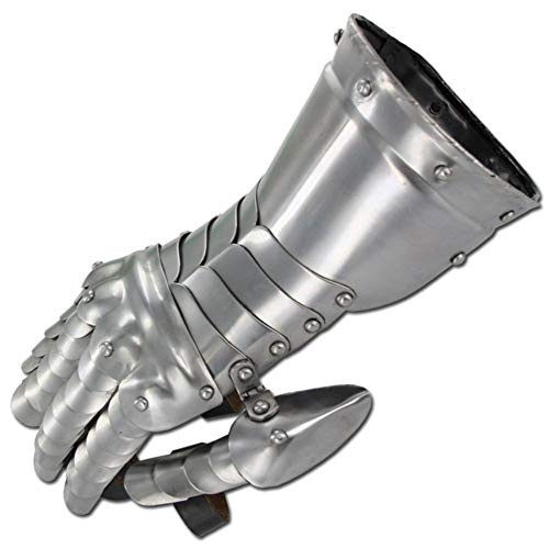 Medieval Knight Gauntlets Functional Steel Armor Gloves