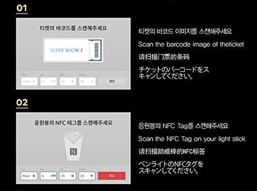 Amazon com : Super Junior Official Luminous Light Stick by