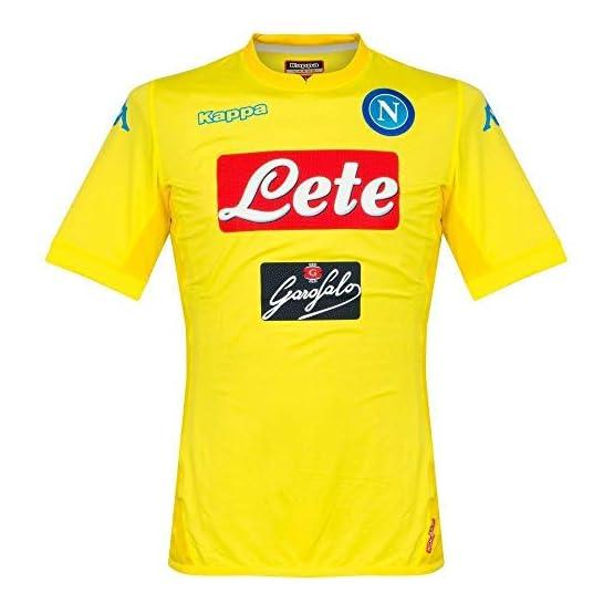 Kappa 2017/18 SSC Napoli Away Jersey Yellow 17/18 Naples