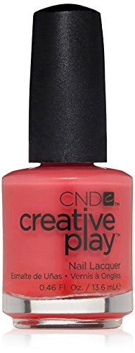 CND Creative Play Nail Polish, Well Red #411, 0.46 fl. oz. Polish Well