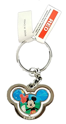 Disney Parks Keychain - Walt Disney World Mickey Icon - World Shops Disney At
