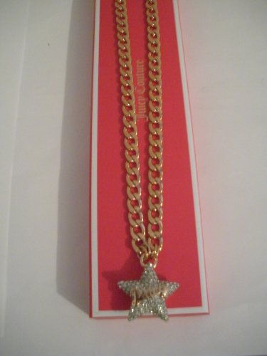 Juicy Couture NWT Chain Link Pave Star ()