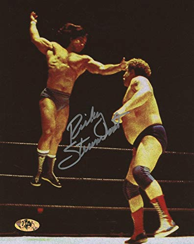 Ricky Steamboat Signed WWE Wrestling 8x10 Photo (MAB ()