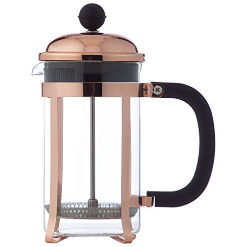 Wyndham House 20 OZ 600ml Copper Colored French Press Coffee Maker