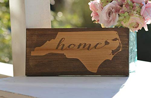 CELYCASY State Home Sign, Cartel de Carolina del Norte ...