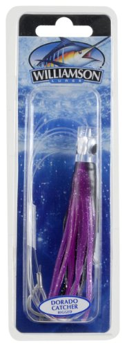 Williamson Dorado Catcher Lure, 4-Inch, Black Purple