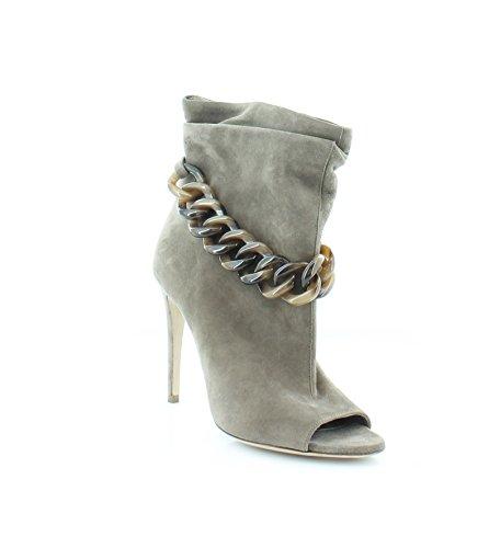 BURBERRY Puntrel Women's Heels Dark Heather Melange Size 7 M