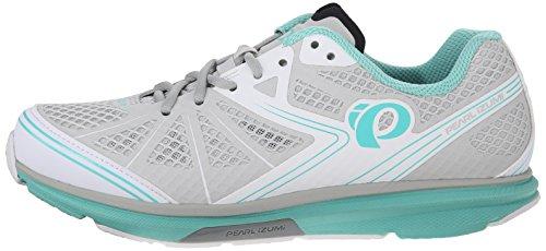 Pearl Izumi Women's W X-Road Fuel IV Cycling Shoe, Aqua Mint, 40 EU/8.3 B US
