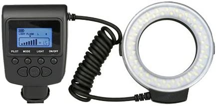 Includes Necessary Adapters//Rings for Mounting On All Olympus Lenses Olympus E-PL5 Dual Macro LED Ring Light//Flash