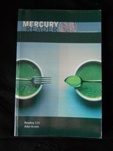 Mercury Reader a Custom Publication Reading 115 Adon Arnett