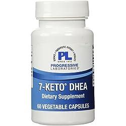 Progressive Labs 7-Keto DHEA Supplement, 60 Count