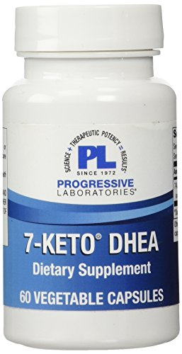 Progressive Labs 7-Keto DHEA Supplement, 60 Count