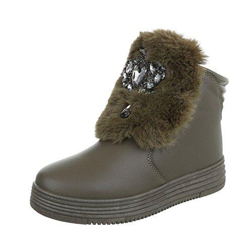 Damen Schuhe Stiefeletten Stiefel Strass Besetzte Schwarz 37 YkpXsVdozU