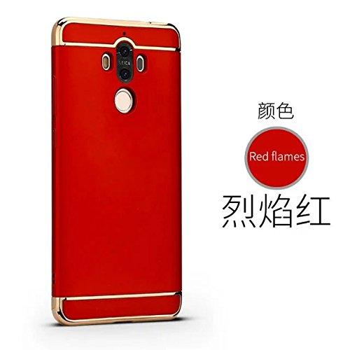 Huawei Mate 9 Funda, Huawei Mate 9 Pro Funda,Huawei Mate 9 Case,Huawei Mate 9 Pro cover, Huawei Mate 9 shell,Manyip Delgado El color, Funda,3 in 1 La combinación de tres párrafos, Protectiva Case Cove B