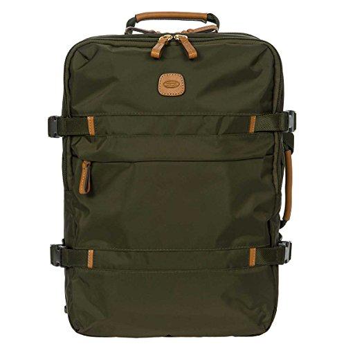 - Bric's X-Bag/x-Travel 2.0 Ultralight 21 Inch International Cross-Strap Montagne Trolley, Olive