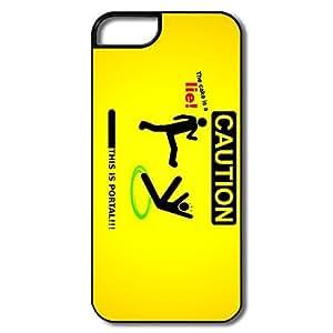 Portal Safe Slide Case Cover For IPhone 5/5s - Funny Case