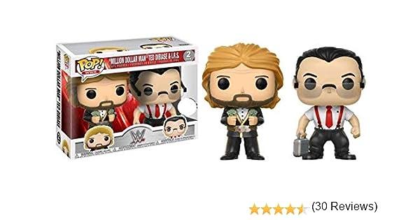 Funko - Figurine - WWE - Bi-Pack Million Dollar Man Ted DiBiase ...