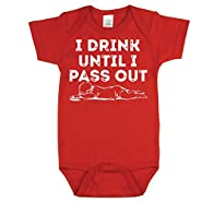 Texas Tees Funny Baby Bodysuits, Humorous Baby Showers Gifts, Storm Pooper Shirt