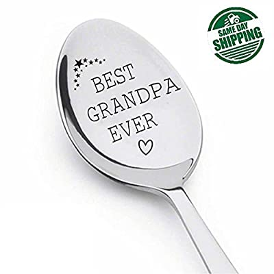 Best Grandpa Ever Spoon ,Funny grandpa gift,best selling items,grandpa,new grandpa,grandfather gift,pregnancy reveal to grandparents,papa gifts,spoon
