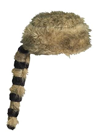 Forum Novelties Furry American Raccoon Tail Costume Hat