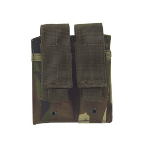 VooDoo Tactical Pistol Double Mag Pouch, Woodland Camo ()