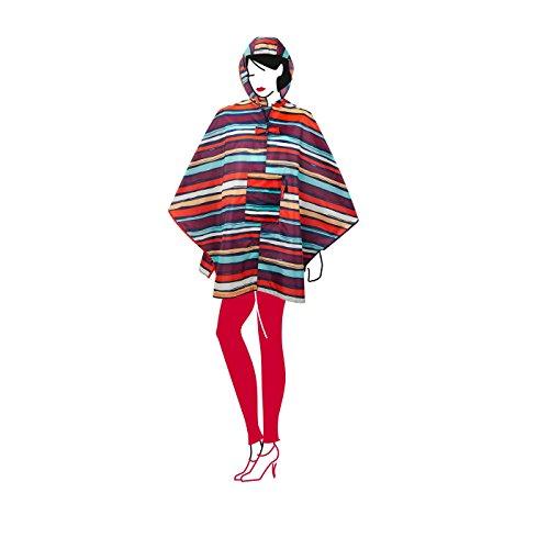Multicolor Rayas Reisenthel Maxi artista Poncho Mini tq6aw47