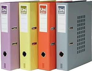 Unisystem 928777 - Archivador de palanca, 350 x 290 x 70 mm, color rojo