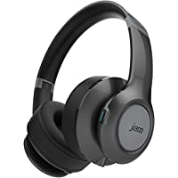 Jam Transit Touch Grey Wireless Bluetooth Over Ear Headphones with Microphone - HX-HP910GY