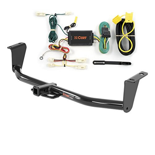 CURT Class 1 Trailer Hitch Bundle with Wiring for 2014-2016 Toyota Corolla - 11265 & 55567 ()