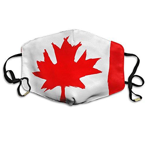 Unisex Dust Allergy Flu Masks Canadian Flag Personality Fashion Mask -