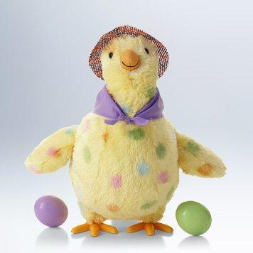 Squawkin' Egg Droppin' Mama Hen Interactive Stuffed Animal, 10