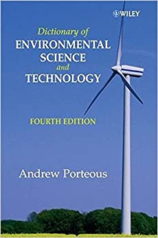 Book Dictionary of Environmental Sc