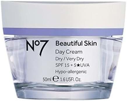 No7 Beautiful Skin Day Cream For Dry/Very Dry Skin Spf 15 50Ml
