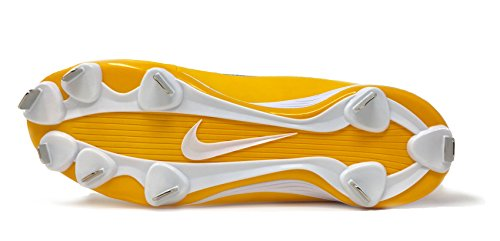 Nike Mænds Huarache 2kfilth Keystone Midten Baseball Klampen Ulv Grå / Solnedgang-hvid Q48ZLf
