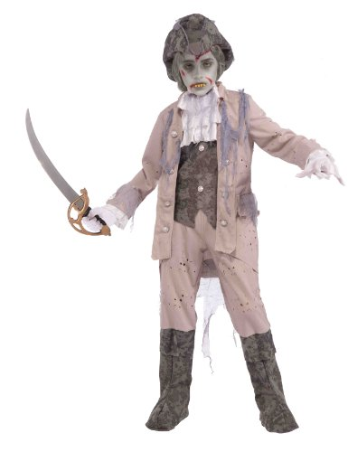 Forum Novelties Zombie Pirate Captain, Child's