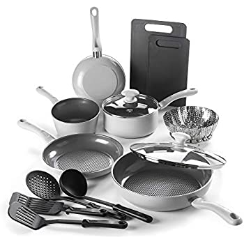 Amazon Com Graniterock 4 Piece Kitchen Set Pans And