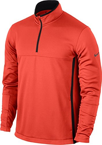 NIKE Golf CLOSEOUT Men's Therma-FIT Cover-Up Jacket (Max Orange) 686085-852 (XX-Large)