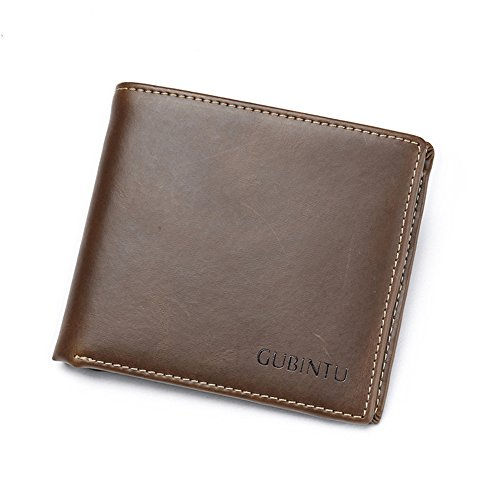 J.Market Genuine Leather Wallets Full Grain Leather Bifold