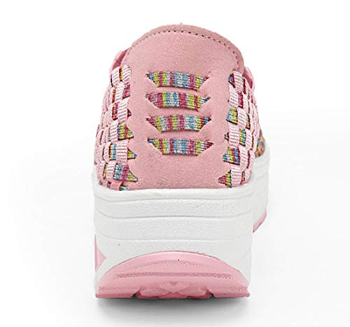 AIRAVATA Mujer 1668 Pink Zapatillas SH075 para rzwPrq