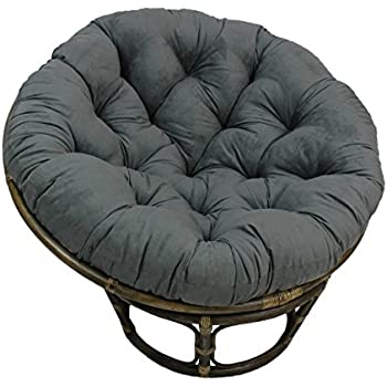 Amazon Com Large Black 44 Inch Microsuede Papasan Round