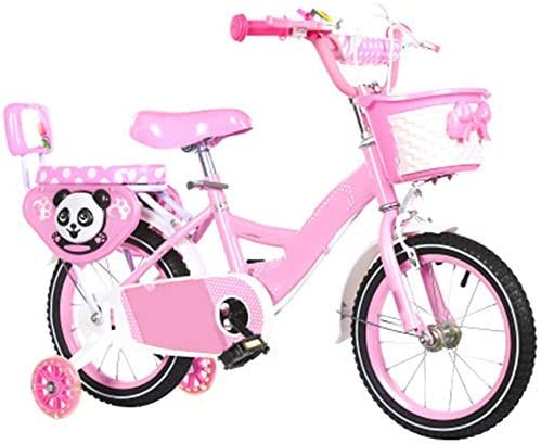 YSA キッズバイク高炭素鋼子供用自転車12/14/16/18インチトレーニングホイール付きの男の子と女の子のサイクリング、2〜5歳の子供向け